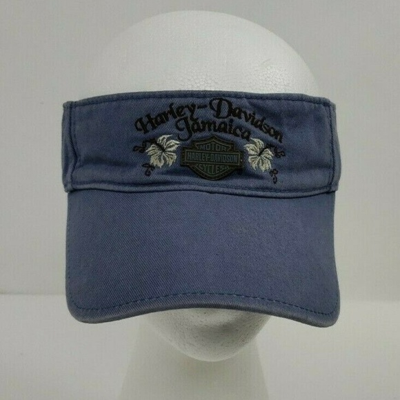 fd8bce455 ⬇️29$ Harley Davidson Jamaica Blue Sun Visor